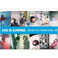 アーティストカレンダー | SHE IS SUMMER アーティストカレンダー 2018
