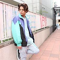 CHIHIRO YASUDA | CHIHIROYASUDA オリジナルブルゾン(blue)