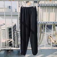 CHIHIRO YASUDA | スラックスジャージ(black)
