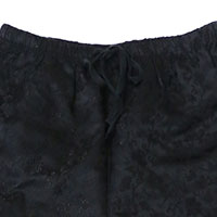 CHIHIRO YASUDA | チャイナパンツ(BLACK)