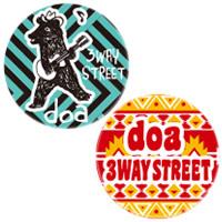 "doa | ""3WAY STREET"" ランダム缶ミラー"