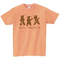 "doa | ""3WAY STREET"" クマTシャツ(オレンジ)"