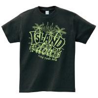 doa | -ISLAND- Tシャツ(ブラック)