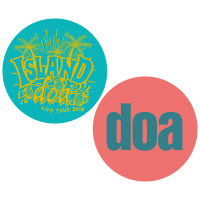 doa | -ISLAND- ステッカーセット