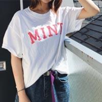 MINT mate box   MINT ロゴTシャツ(pink)
