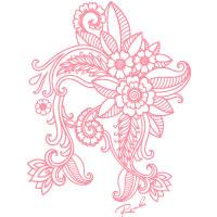 蓮花 | Tシャツ(ピンク)
