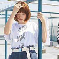 SHE IS SUMMER | SIS オリジナルTシャツ