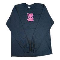 SHE IS SUMMER | SIS オリジナルロングTシャツ(ブラック)