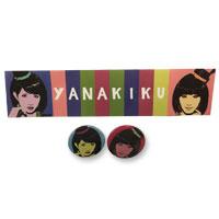YANAKIKU | YANAKIKUステッカー&缶バッジセット