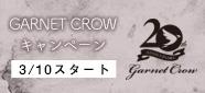 GARNET CROWキャンペーン