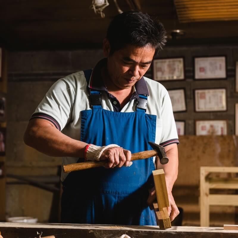 經營兩代卻只做一件事的木工匠人在想什麼? 三和木藝第二代掌門人林治謙