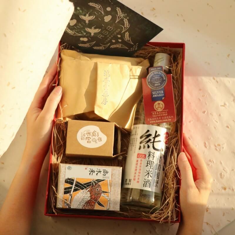 蘊藏土地力量的新年禮盒,匠生活帶您用米環繞寶島