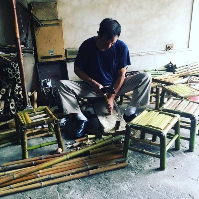 百年竹技藝傳承,永續竹工藝的線與美 - 台南信二竹店王壬煇