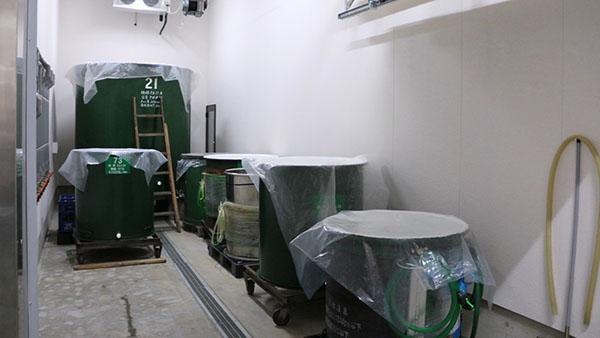 玉川 木下酒造 新しい酒母室