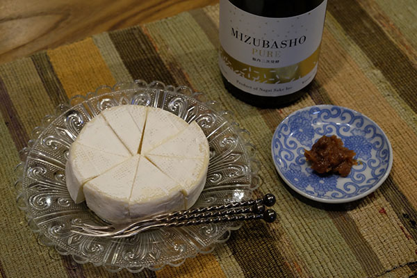 MIZUBASHO PURE とチーズ