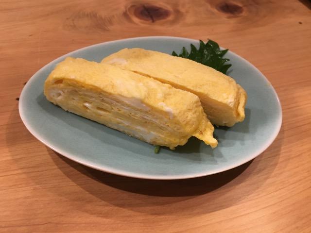 高松 茶飯の卵焼き