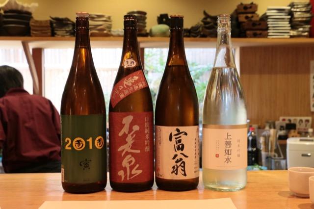 日本酒レッスンその11 酒と料理を組み立てる