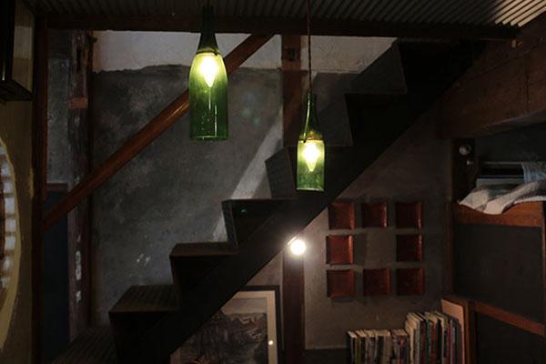 森國酒造 CAFE & BARの内部