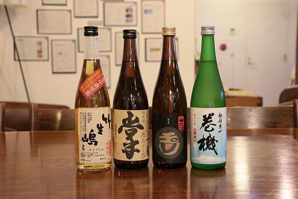 テイスティングに利用した日本酒ラインナップ