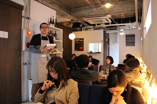日本酒コンシェルジュによる料理と日本酒のペアリング解説