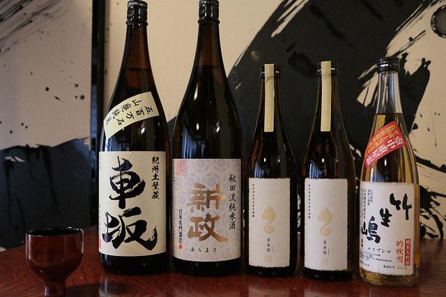 日本酒ラインナップ 車坂・新政・竹生嶋