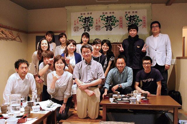 参加者の皆さん、講師の石黒さんと記念写真