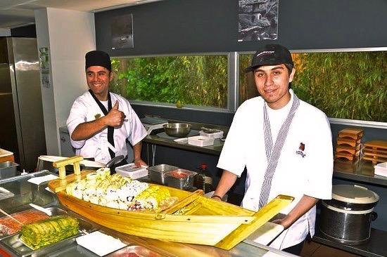 サンチアゴの寿司屋