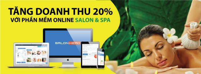 tăng doanh thu với phần mềm quản lý spa SalonHero