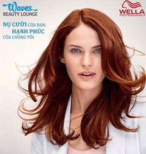 Salon Wave- chăm sóc cho mọi loại da đầu