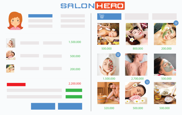 phần mềm quản lý Salon