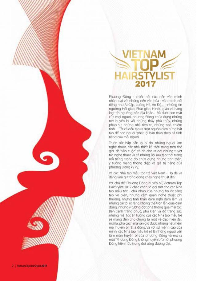 Vietnam Top Hairstylist chủ đề
