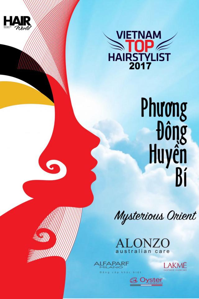 Vietnam Top Hairstylist 2017 chung kết