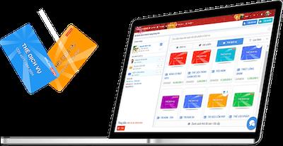 phần mềm quản lý thẻ dịch vụ liệu trình spa salon nail