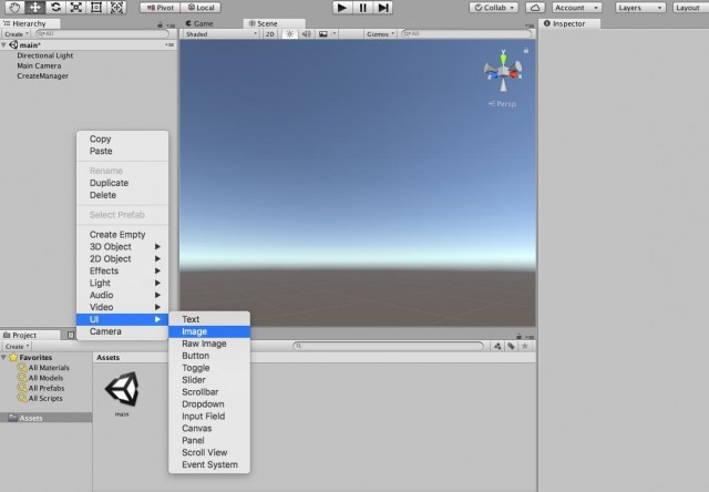 Toggle Canvas Unity