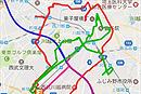 GPSロガー地図表示