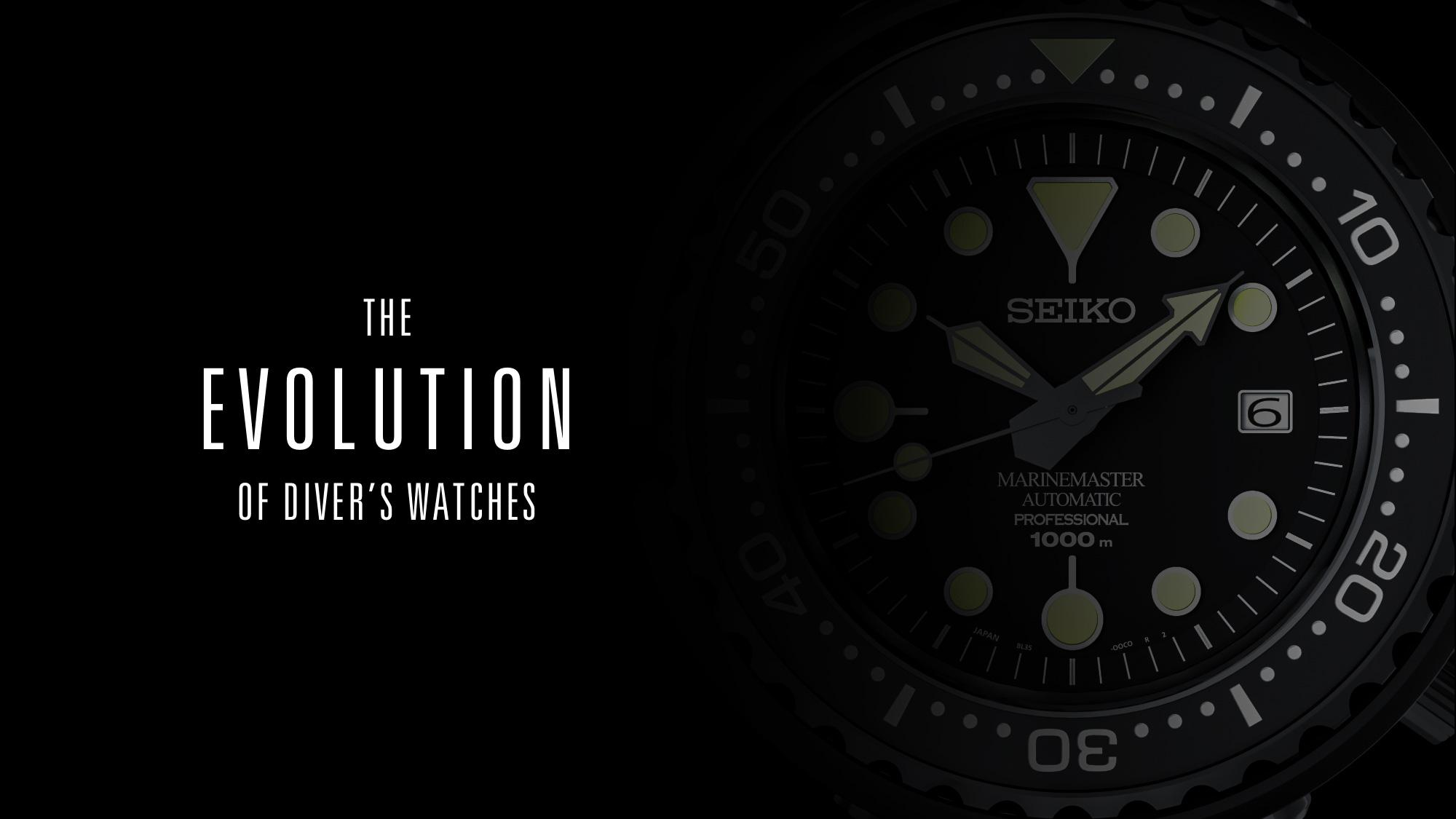 The Evolution of Diver's Watches