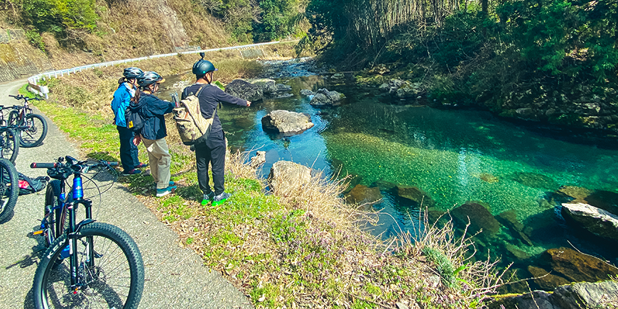 e-Bikeでサイクリング&渓流釣りに挑戦ツアーのイメージ