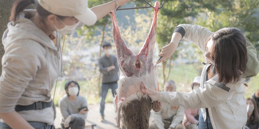 猟師と「捕って!さばいて!食べる!」ハンティング&ジビエ体験ツアーのイメージ