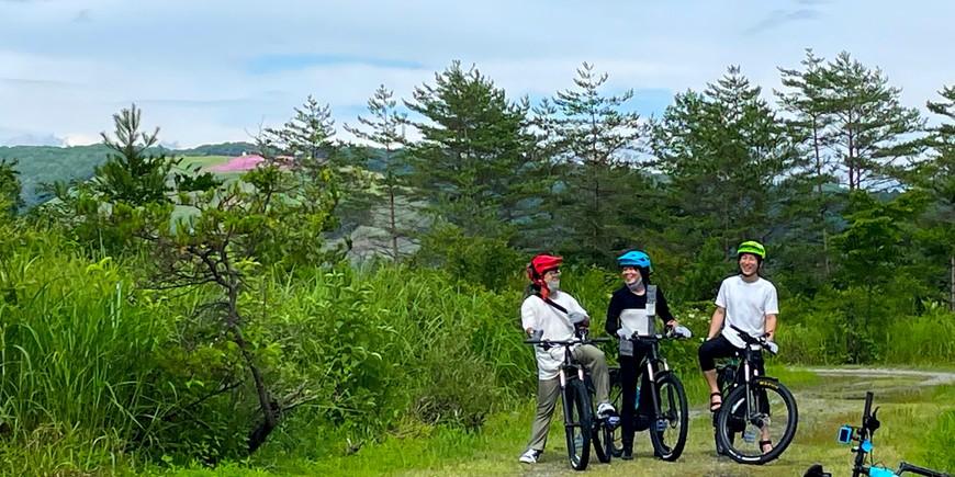 ひるがの高原を巡る 初心者向けEマウンテンバイクツアーのイメージ