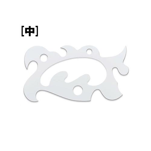 ウチダ 万能雲形定規[中](1-811-0401)