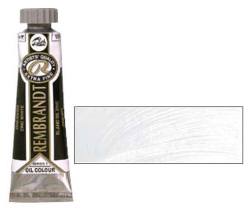 レンブラント 油絵具5号(15ml) 104ジンクホワイト(サフラワー)