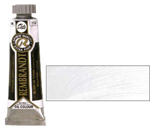 レンブラント 油絵具5号(15ml) 118チタニウムホワイト(リンシード)
