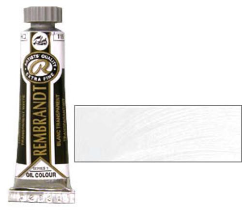 レンブラント 油絵具5号(15ml) 119トランスペアレントホワイト