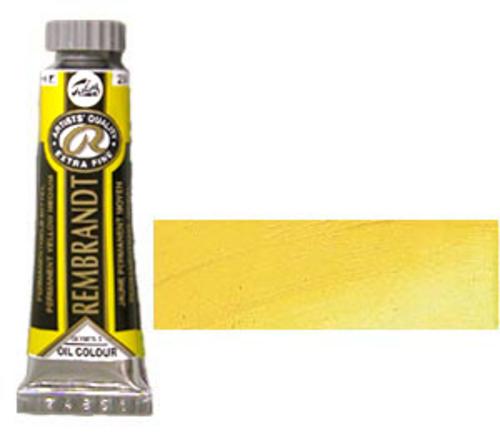 レンブラント 油絵具5号(15ml) 284パーマネントイエローミディアム