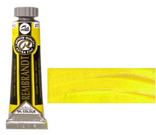 レンブラント 油絵具5号(15ml) 272トランスペアレントイエローミディアム
