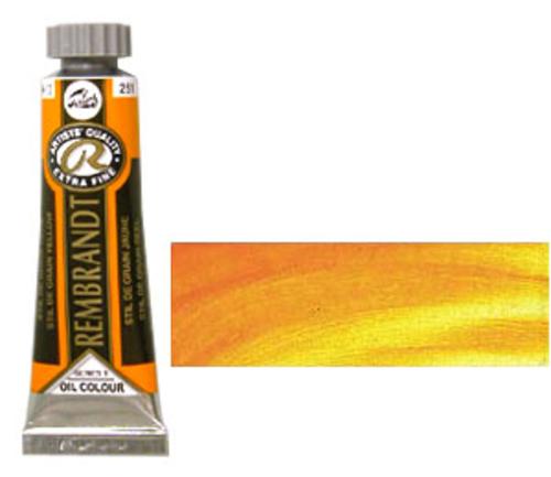 レンブラント 油絵具5号(15ml) 251スティルドグランイエロー