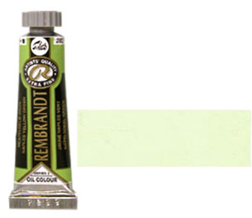 レンブラント 油絵具5号(15ml) 282ネープルスイエローグリーン