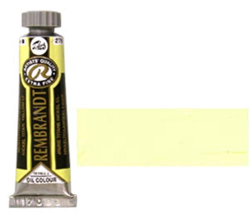 レンブラント 油絵具5号(15ml) 279ニッケルチタニウムイエローライト