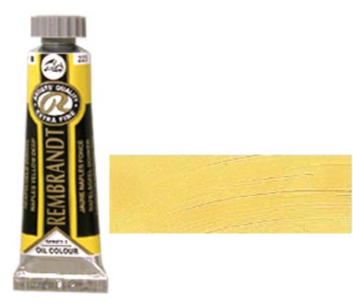 レンブラント 油絵具5号(15ml) 223ネープルスイエローディープ