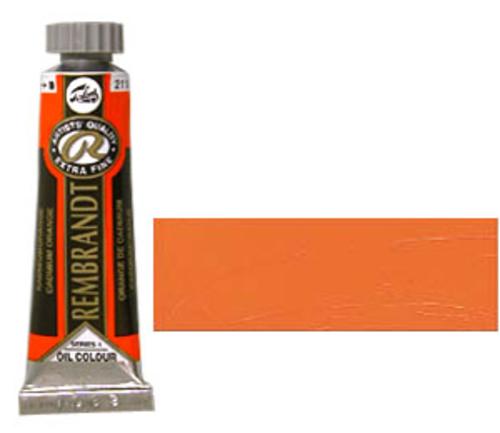 レンブラント 油絵具5号(15ml) 211カドミウムオレンジ